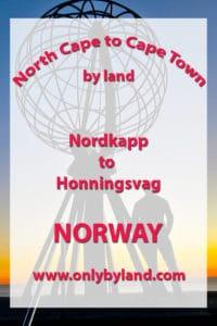 Nordkapp to Honningsvag