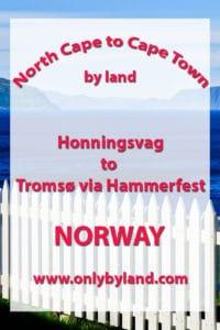 Honningsvag to Tromso via Hammerfest