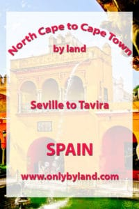Seville to Tavira