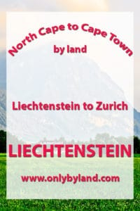 Liechtenstein to Zurich