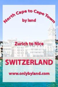Zurich to Nice