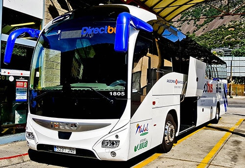 Andorra la Vella to Barcelona direct bus service - €33Andorra la Vella to Barcelona direct bus service - €33