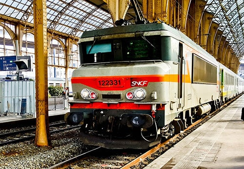 Train from Nice to Toulouse - €78 - 7 hours