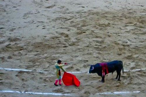Bullfight, Madrid, Spain