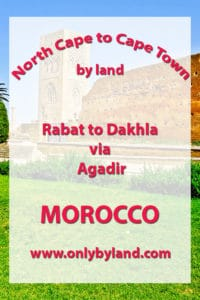 Rabat to Dakhla via Agadir