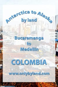 Bucaramanga to Medellín