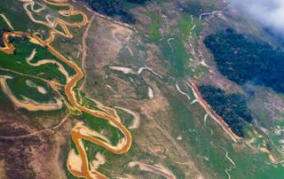 A view from the flight from Ciudad Bolívar to Angel Falls
