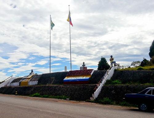 Brazil / Venezuela border to Ciudad Bolívar