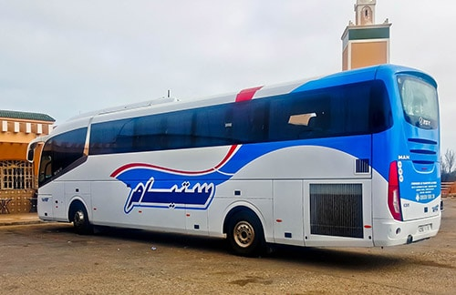 CTM overnight bus from Agadir to Dakhla - 395 Dirham