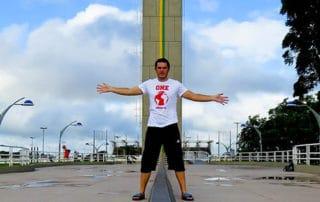 Marco Zero monument, Macapá, Brazil