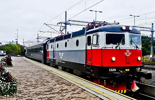 Narvik to Stockholm direct train