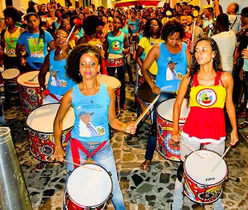 Olodum live in Salvador