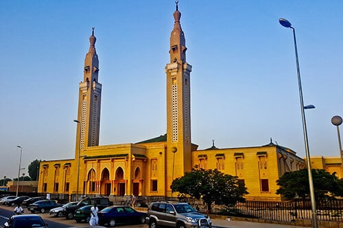 Saudi Mosque in Nouakchott