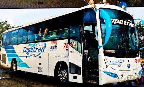 Bus from Bogotá to Cartagena