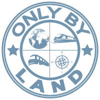 Only By Land Logo