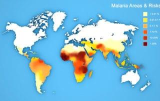 Malaria Area Map