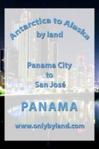 Panama City to San Jose