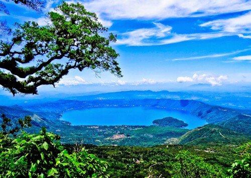 Lake Coatepeque, El Salvador - Crator Lake