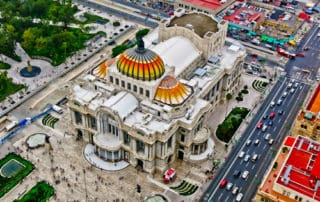 Bellas Artes Palace, Mexico City
