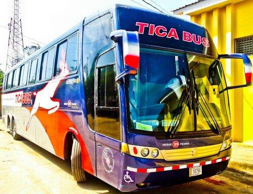 Bus from León to Tegucigalpa