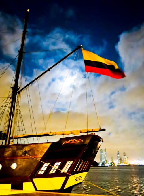 Pirate Ship, Cartagena