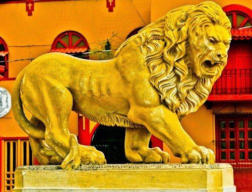 The Lion of Léon, Nicaragua