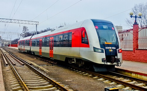 Train from Minsk to Vilnius