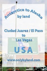 Ciudad Juarez / El Paso to Las Vegas