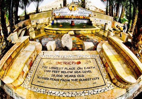Elisha's Spring, Jericho