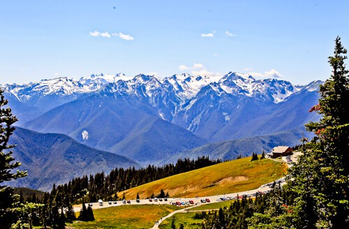 Hurricane Ridge Visitor Center, Olympic National Park, Washington
