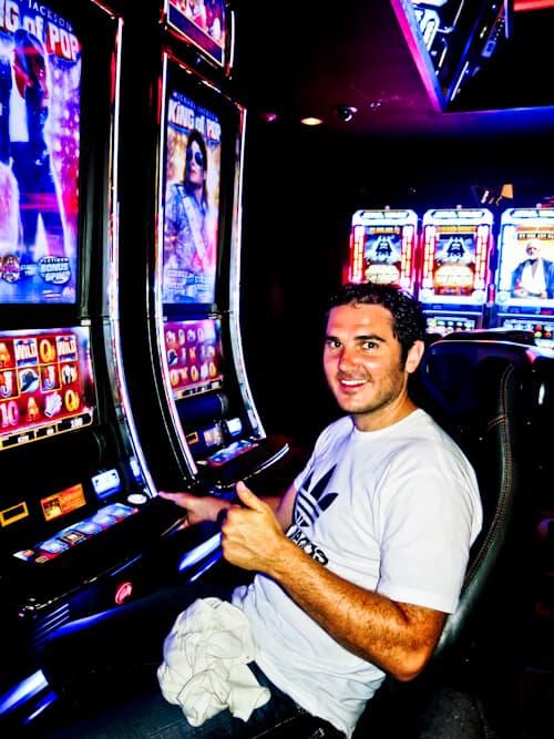 Michael Jackson slot machine, Reno