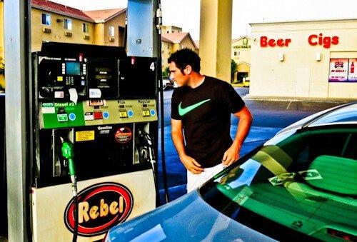 Gas Station, Reno, NV