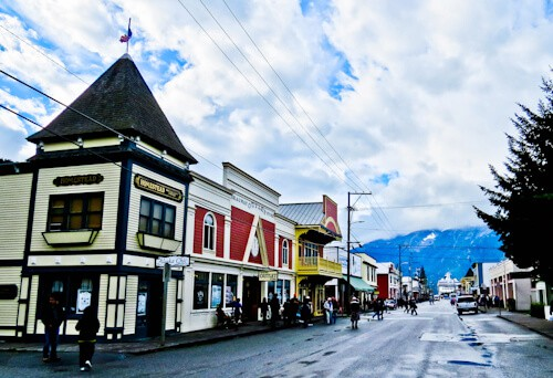 Downtown, Skagway, Alaska