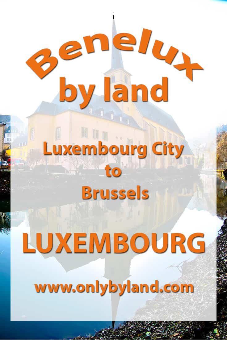 Luxembourg City to Brussels