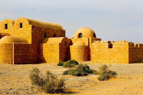 Quseir Amra Desert Castle, Jordan