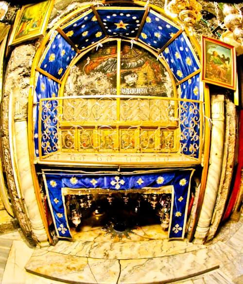 Birthplace of Jesus, Church of the Nativity, Bethlehem