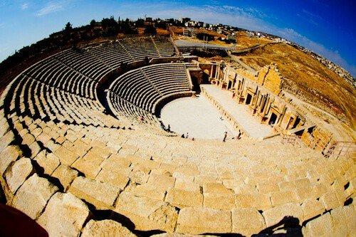 Northern Theater, Gerasa, Jordan