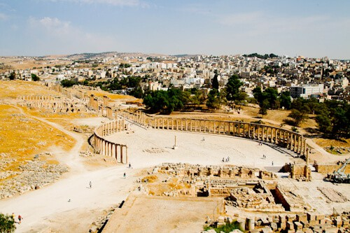 Oval Forum, Gerasa, Jordan
