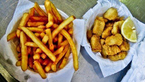 Fish and Chips, Jaffa Port