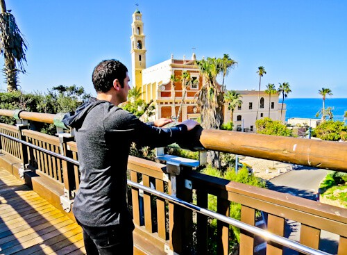 The Wishing Bridge of Jaffa, Tel Aviv