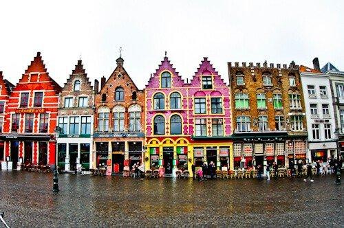 Bruges Market Place, Belgium