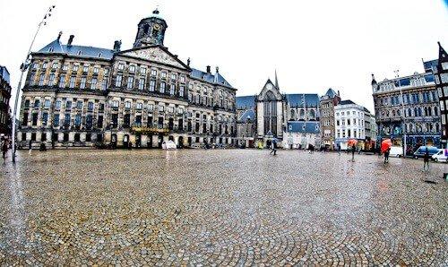 Royal Palace, Dam Square, Amsterdam