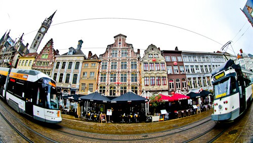 Korenmarkt City Square, Ghent