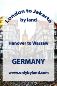 A visit to the points of interest of Hanover including Hanover New Town Hall (Rathaus), Hanover historic center, Herrenhausen Gardens, Marktkirche Church, Kröpcke and Hauptbahnhof Marienburg Castle, Telemax, Eilenriede and Hanover Zoo, Maschsee Lake before taking the train to Warsaw, Poland