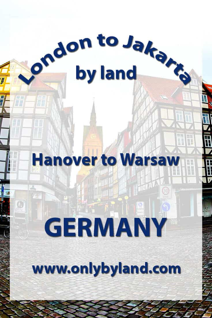 Hanover to Warsaw