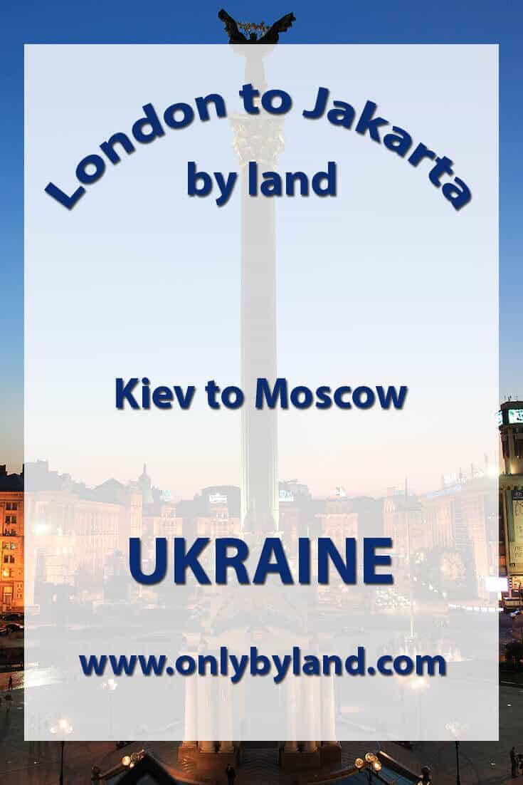 Kiev to Moscow