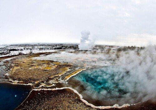 Blesi, Geysir, Iceland