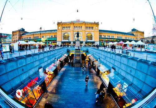 Kröpcke and Hauptbahnhof, Hanover