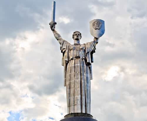The Motherland Monument, Kiev