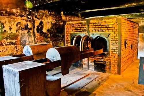 Auschwitz Ovens, Poland